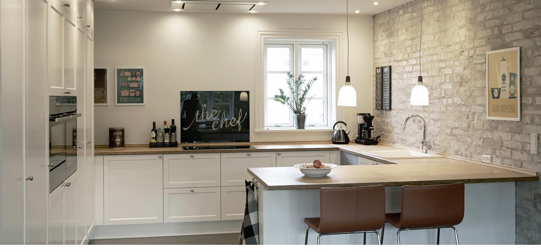 Fantastisk SØNDERBORG KØKKEN – Stilfulde køkkendesign til dit hjem PU84